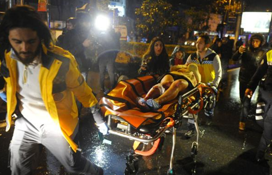 Official: 35 dead in Istanbul New Year's Eve terror attack
