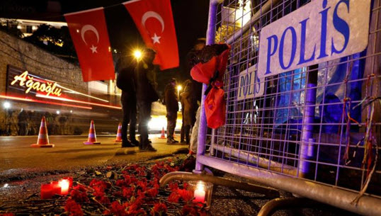 Two Jordanian killed, six wounded in Istanbul attack