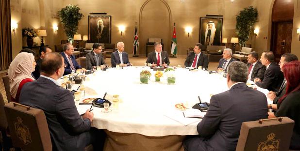 نتيجة بحث الصور عن جلالة الملك يلتقي مجلس نقابة الصحفيين