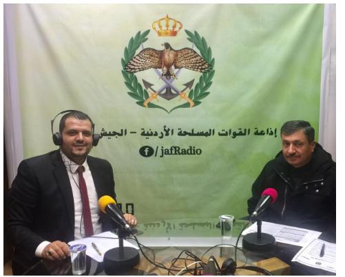العميد الطراونه لــ  إذاعة القوات المسلحة : لا وجود لـ  مخدرات الكترونية أو رقمية  في الأردن