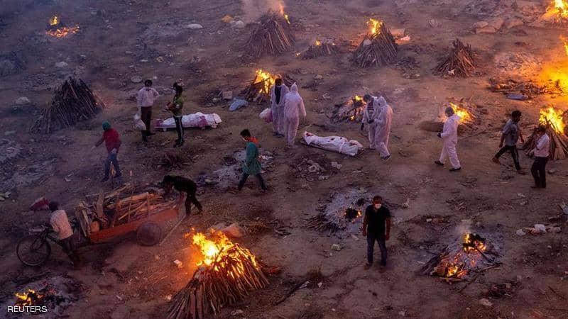 """""""القطرية"""" تنقل المساعدات العالمية إلى الهند لتخطي أزمة كورونا"""