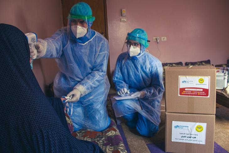 غزة: 5 وفيات و1598 إصابة جديدة بفيروس كورونا
