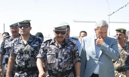 تمرين وهمي للدفاع المدني الأردني