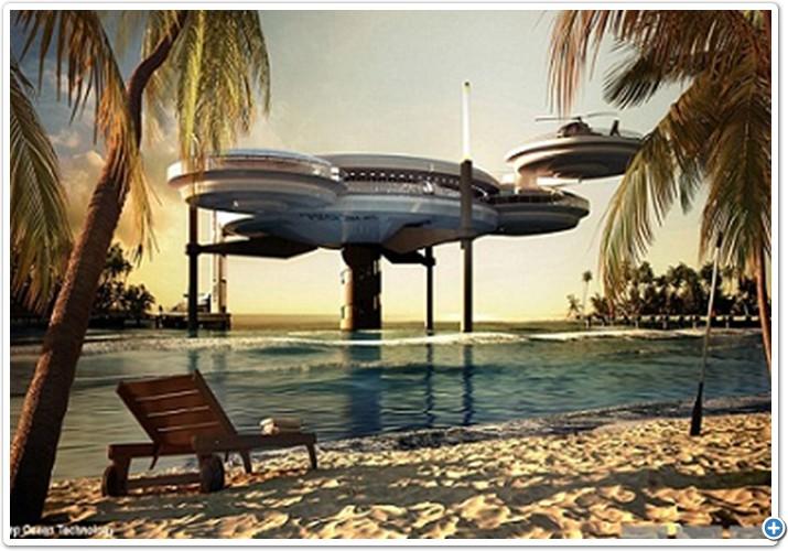 فندق قرص الماء.. أعجوبة أخرى في دبي!..  02